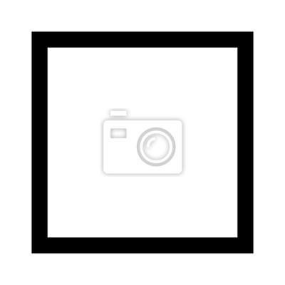 Plakat Ikona wektor kwadratowy 4 liniowe geometryczne kształt linii dla aplikacji i stron internetowych