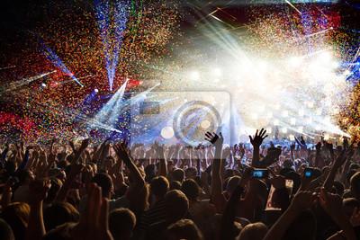 Plakat impreza koncert disco