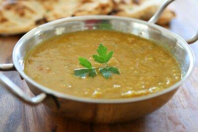 Plakat Indyjskie curry Soczewica