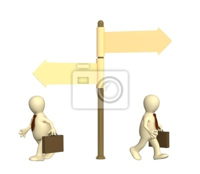 Innym kierunku w biznesie