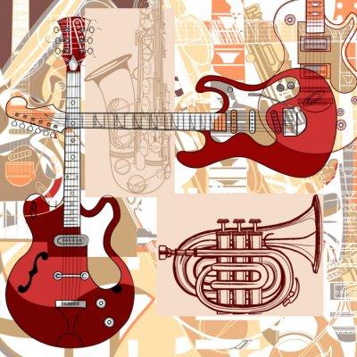 Instrumenty Muzyczne Plakaty Redro