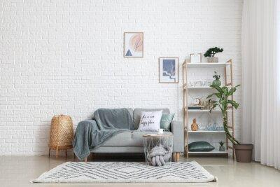 Plakat Interior of stylish living room