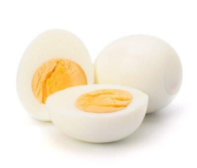 Plakat jajko na twardo