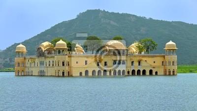 Jal Mahal Woda Pałac w Jaipur, Indie.