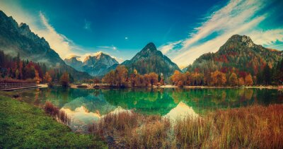 Plakat Jasna lake, Slovenia