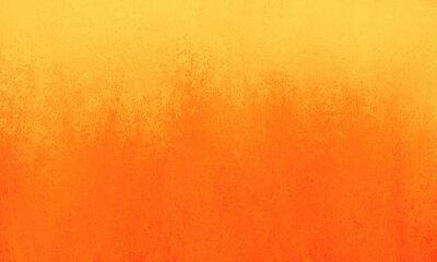 Plakat Jasne pomarańczowe tło z żółtą ramką