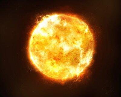 Plakat Jasne słońce