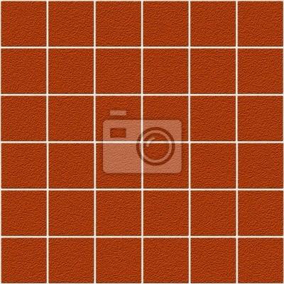 Plakat Jednolite pomarańczowe płytki z widocznymi słojami