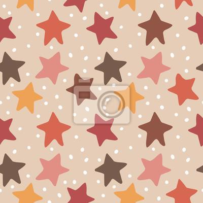 Jednolite wektor wzór gwiazdy