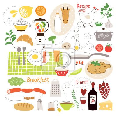Jedzenie Grafiki Biblioteka Skladniki Zywnosciowe Plakaty Redro