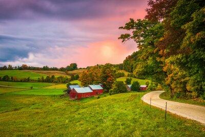 Plakat Jenne Farm in Vermont, USA