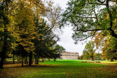 Plakat Jesień w Parku Monza