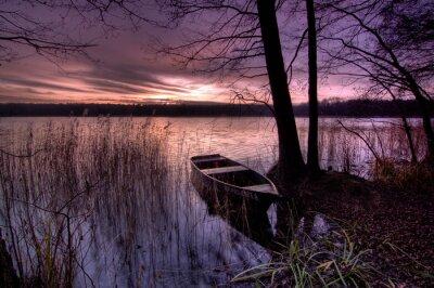 Plakat Jezioro
