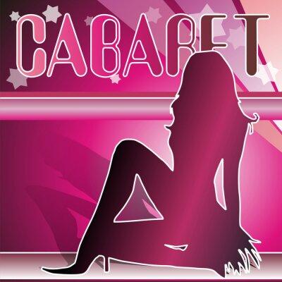 Plakat kabaret