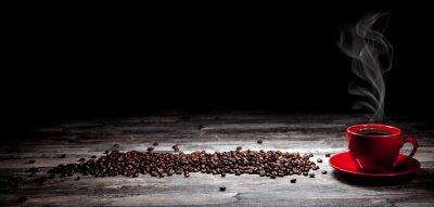 Plakat Kaffee Hintergrund