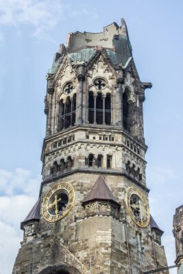 Plakat Kaiser Wilhelm Gedachtniskirche Berlin Charlottenburg