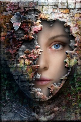Plakat Kamień kobieta