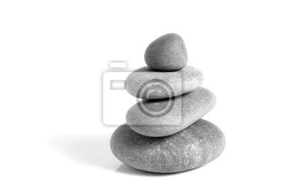 Plakat kamienie