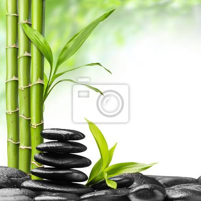 Plakat kamienie zen