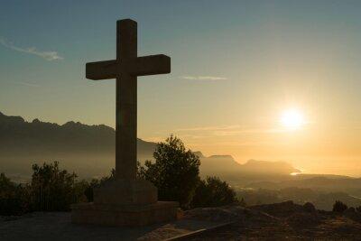 Plakat Kamienny krzyż