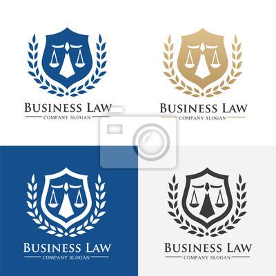 Plakat Kancelaria logo, logo Kancelaria adwokat logo, Wektor szablon logo