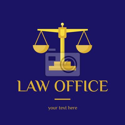 Kancelaria Logo Sędzia Kancelaria Szablon Logo Adwokat Zestaw Plakaty Redro