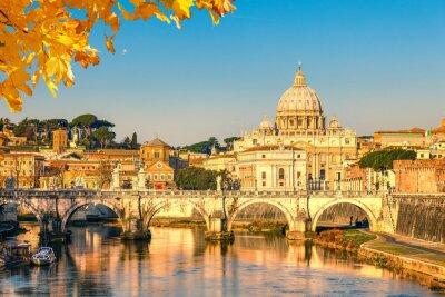 Plakat Katedra Świętego Piotra w Rzymie