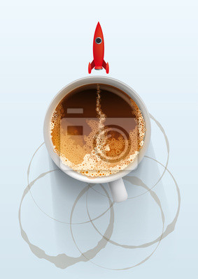 Kawa jest szybkie rozpoczęcie każdego ranka