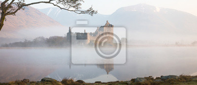 Plakat Kilchurn zamek, panorama