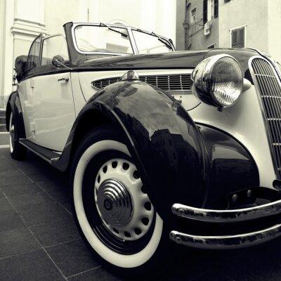 Plakat Klasyczny samochód