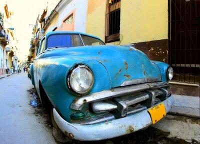 Plakat Klasyczny stary samochód
