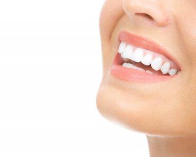 Plakat kobieta zębów