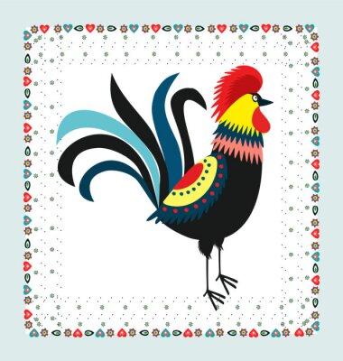 Plakat Kogut - haft
