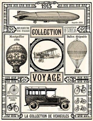Plakat Kolekcja Voyage