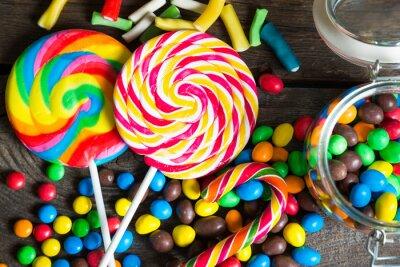Plakat Kolorowe cukierki