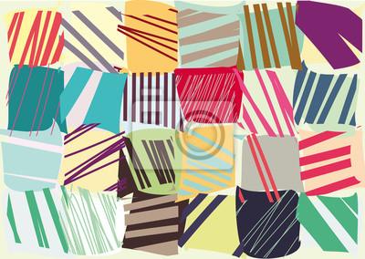 kolorowe paski dekoracyjne wektor