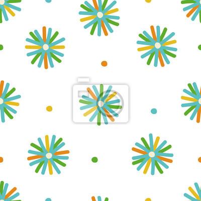 Kolorowy nowoczesny gwiazda bez szwu wektor wzór