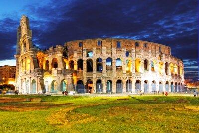Plakat Koloseum, Rzym, Włochy