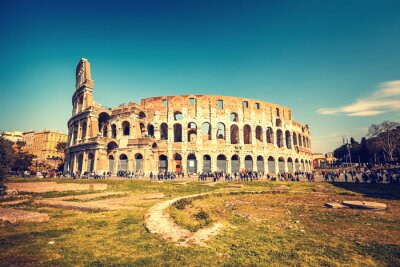 Plakat Koloseum w Rzymie