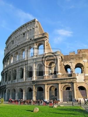 Koloseum w Rzymie, Włochy .