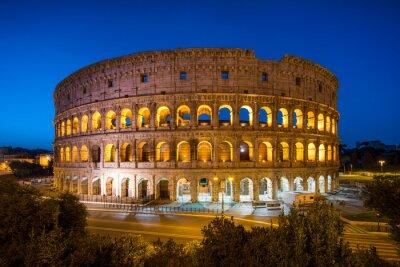 Plakat Koloseum w Rzymie, Włochy
