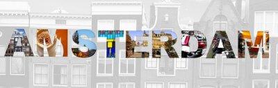 Plakat koncepcja Amsterdam