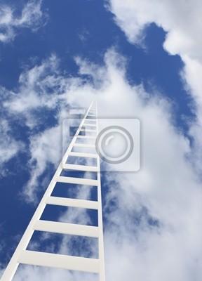 Koncepcyjne obrazu - Drabina w niebo