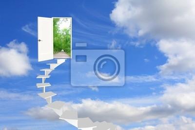 Koncepcyjne obrazu - droga do marzeń