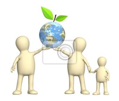 Koncepcyjne obrazu - ochrona środowiska
