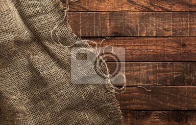 Plakat Konopie tekstury na drewnianym tle