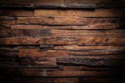 Plakat Konstrukcja ciemnym tle drewna
