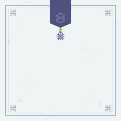 Plakat Korean traditional ornament background