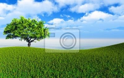 Plakat krajobraz