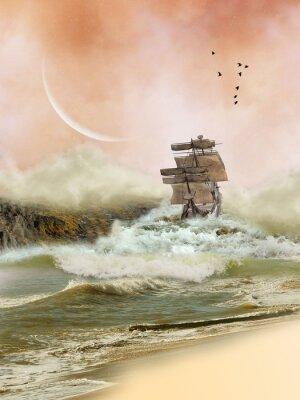 Plakat Krajobraz fantasy